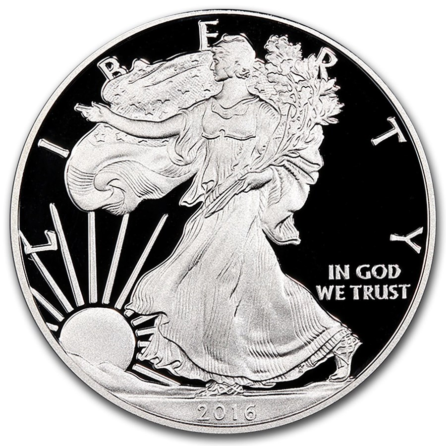 2016 Proof Silver Eagle Coin 2016 Proof Silver American