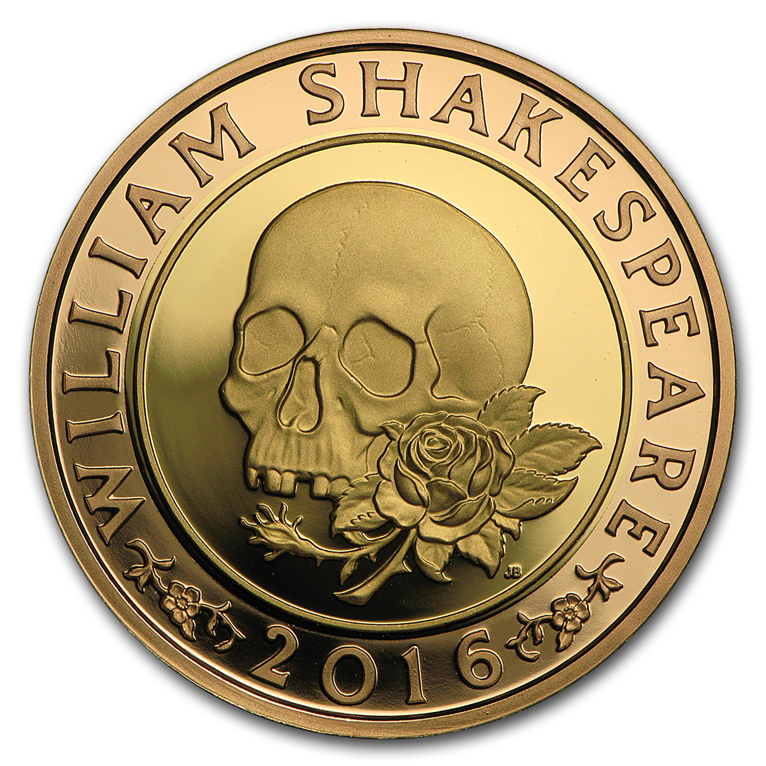 2016 Great Britain £2 Proof Gold Shakespeare Series: Tragedies