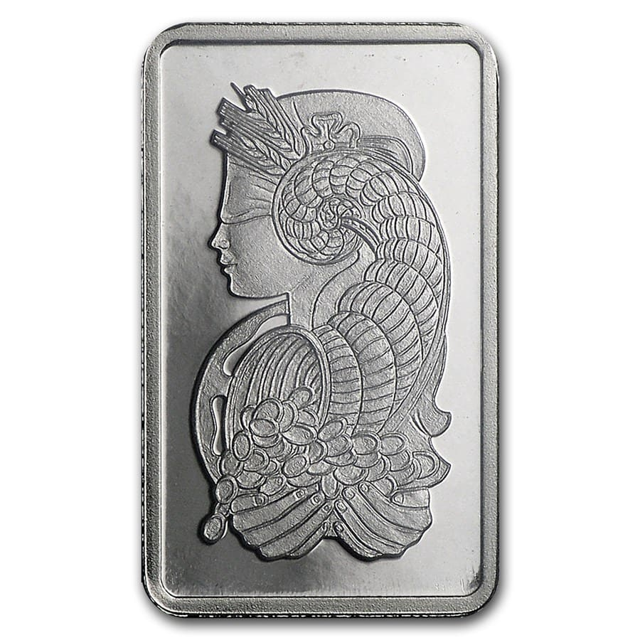 1 gram Palladium Bar - PAMP Suisse (In Assay)