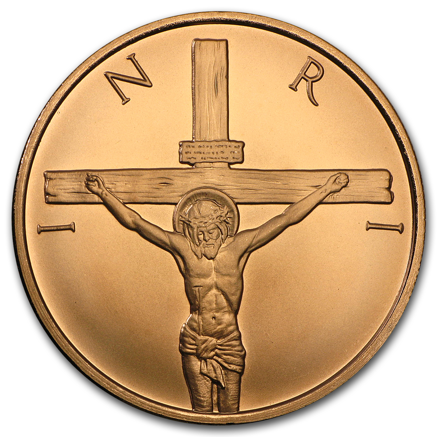 2016 1 oz Copper Round - Crucifixion