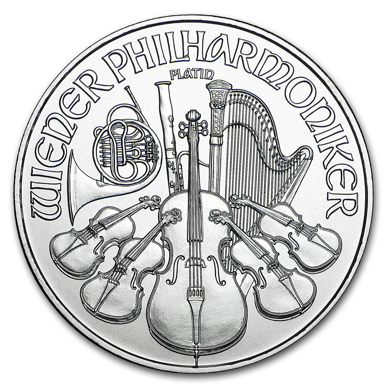 2016 Austria 1 oz Platinum Philharmonic BU