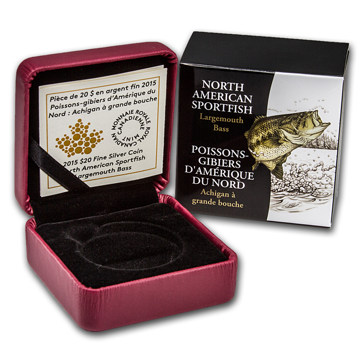 OGP Box & COA - 2015 Canadian Silver Largemouth Bass