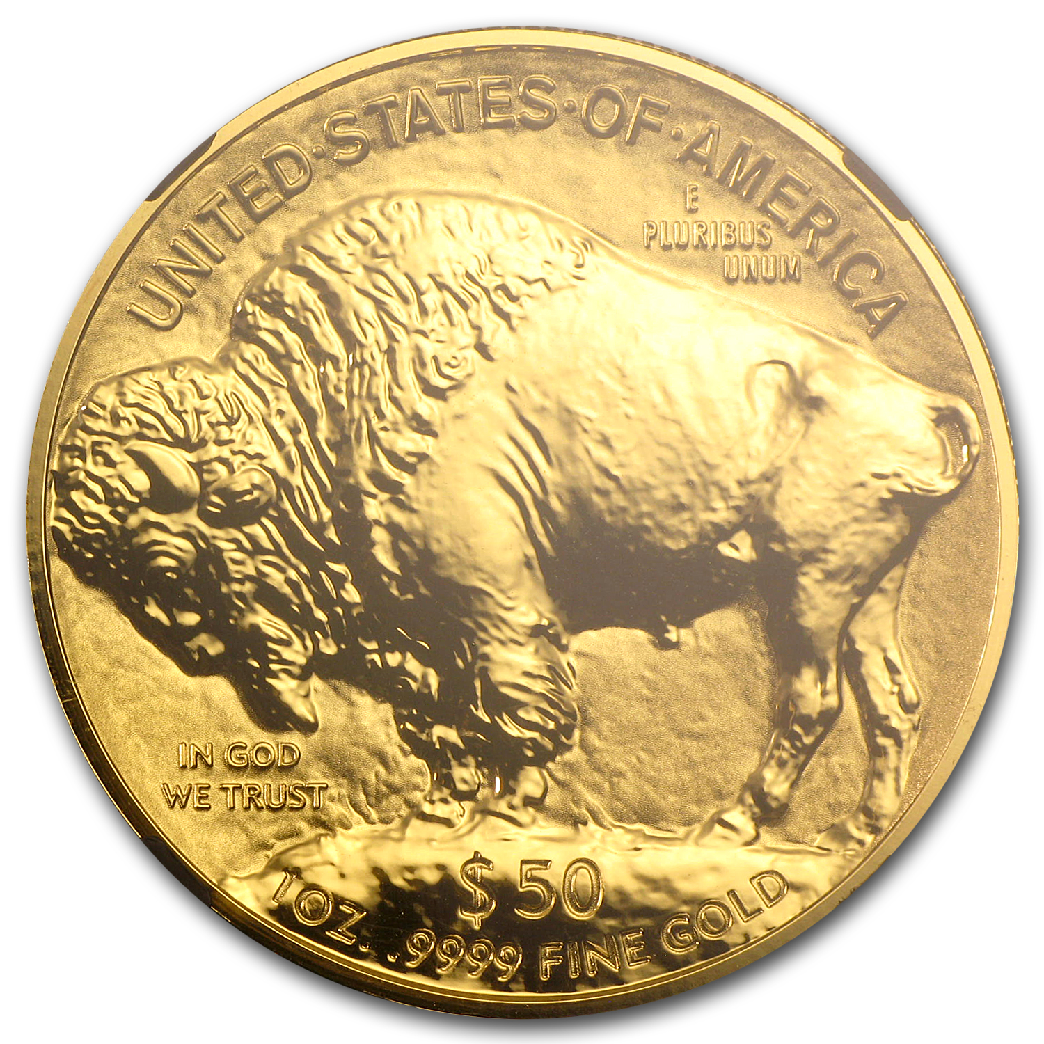 2013-W 1 oz Reverse Proof Gold Buffalo PF-70 NGC ER (Black Slab)