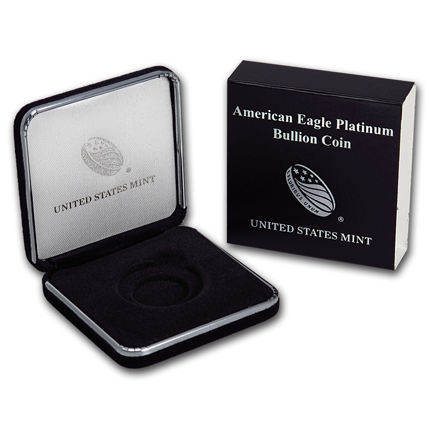 U.S. Mint Box - 1 oz Platinum American Eagle (Empty)