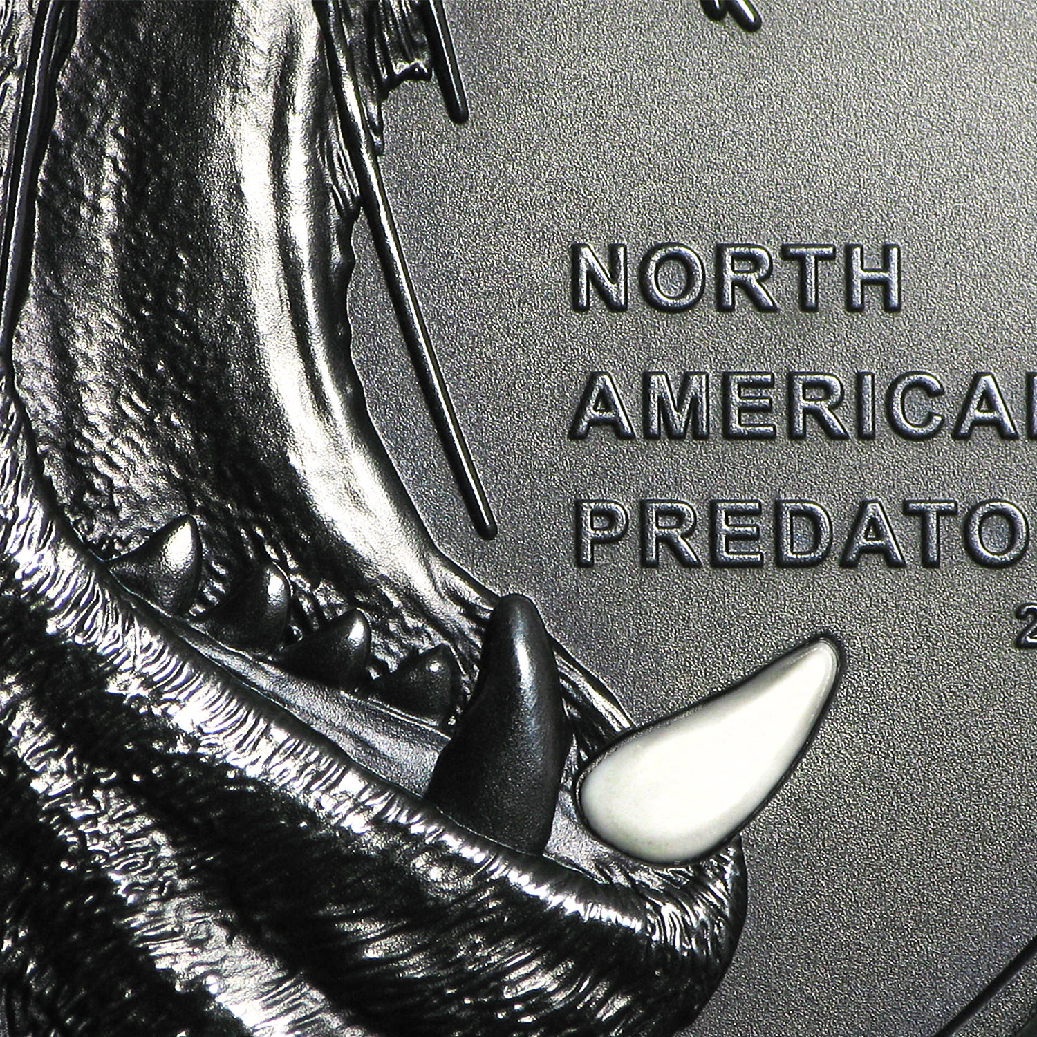 2016 Cook Islands 2 oz Silver North American Predators Sea Lion