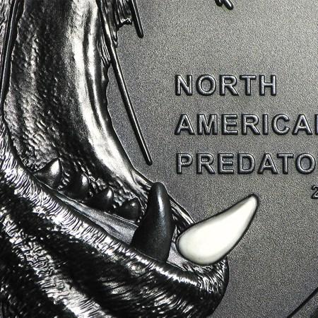 Cook Islands 2 Oz North American Predators Sea Lion Silver