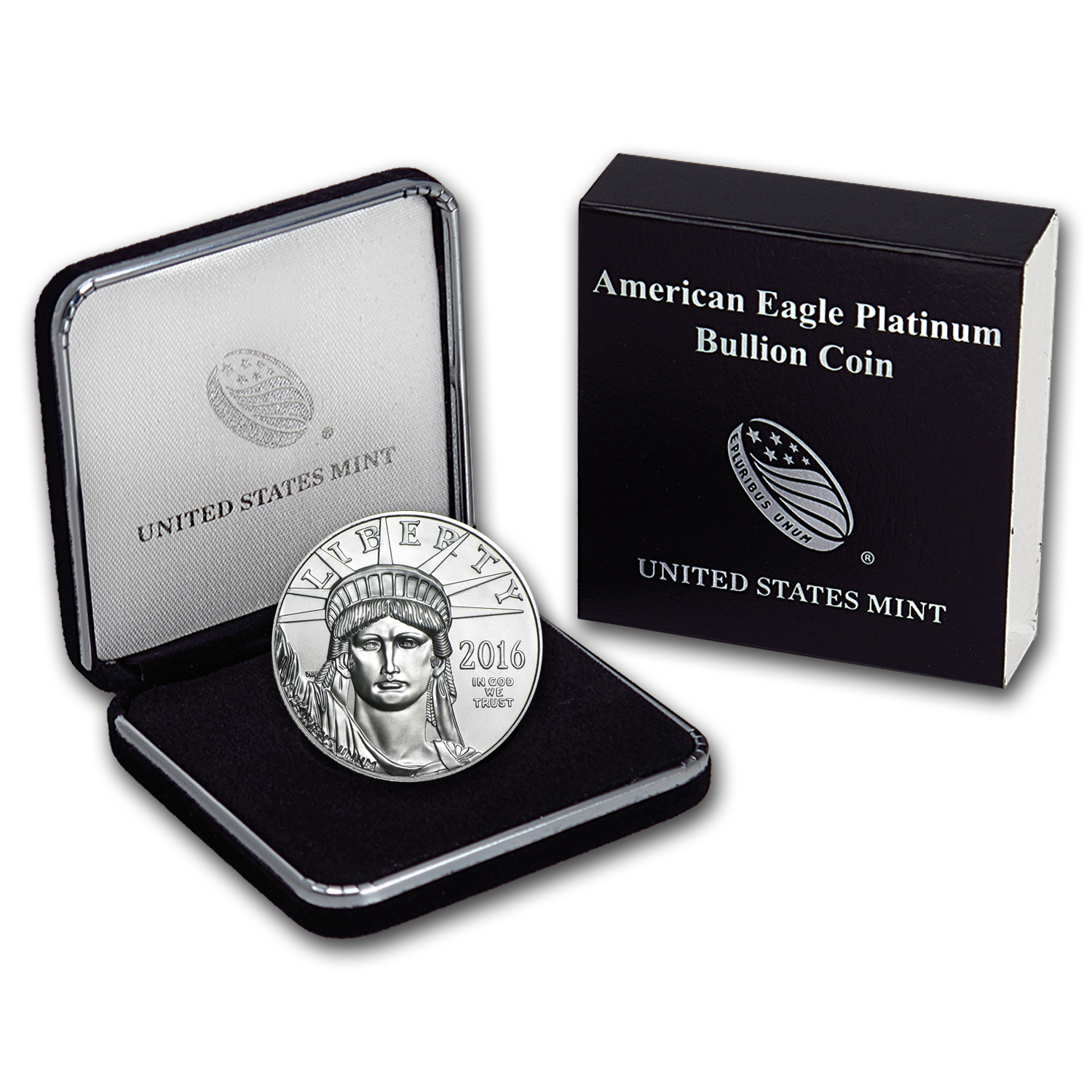 2016 1 oz Platinum American Eagle BU (w/U.S. Mint Box)