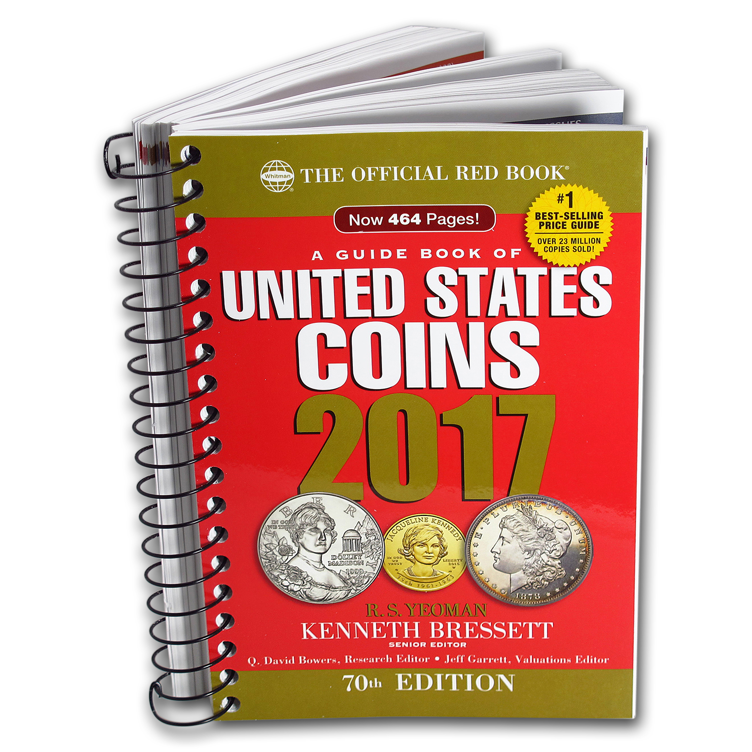2017 Red Book of United States Coins - Bressett & Yeoman (Spiral)