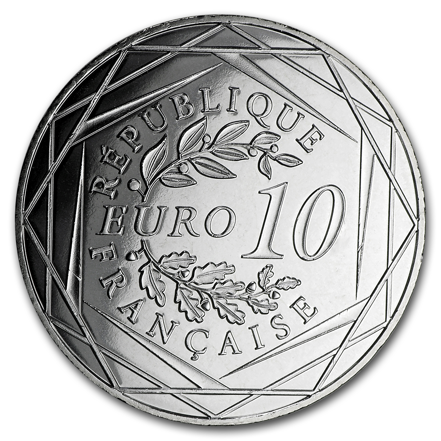 2016 France Silver €10 The Rooster