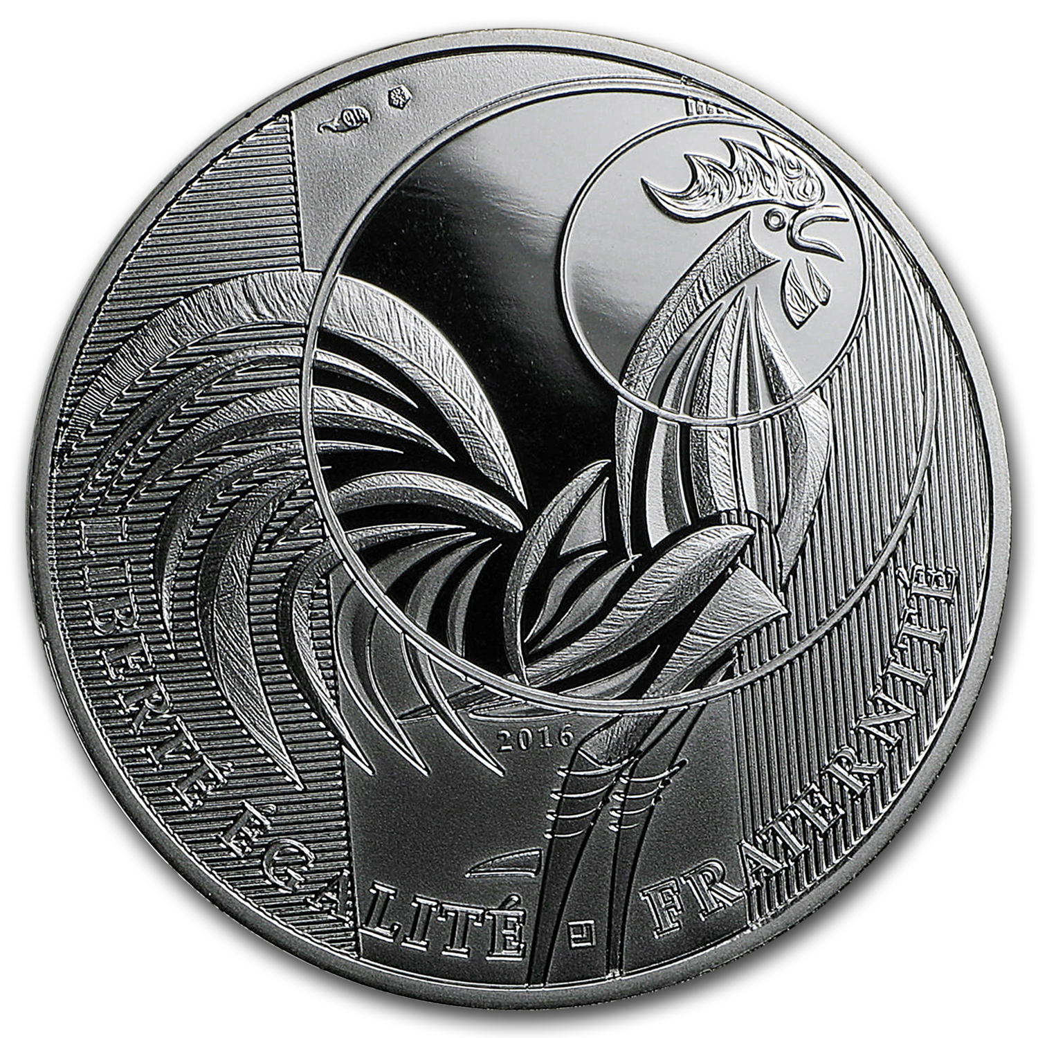 2016 France Proof Silver €10 The Rooster