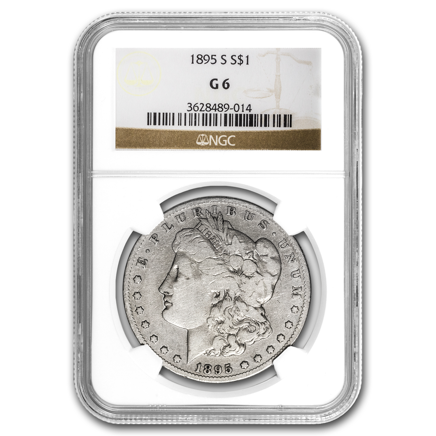 1895-S Morgan Dollar Good-6 NGC