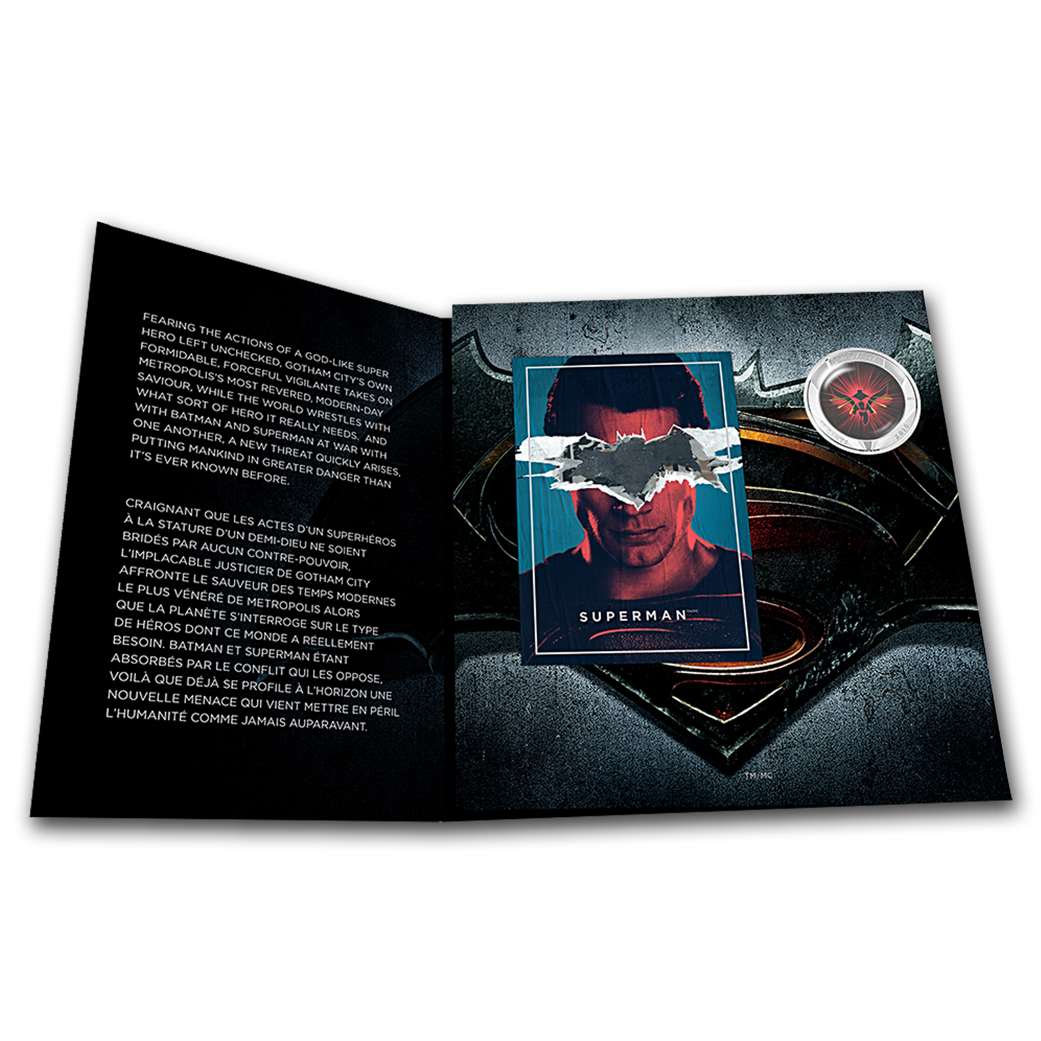 2016 Canada 25-Cent Lenticular Batman v Superman: Dawn of Justice