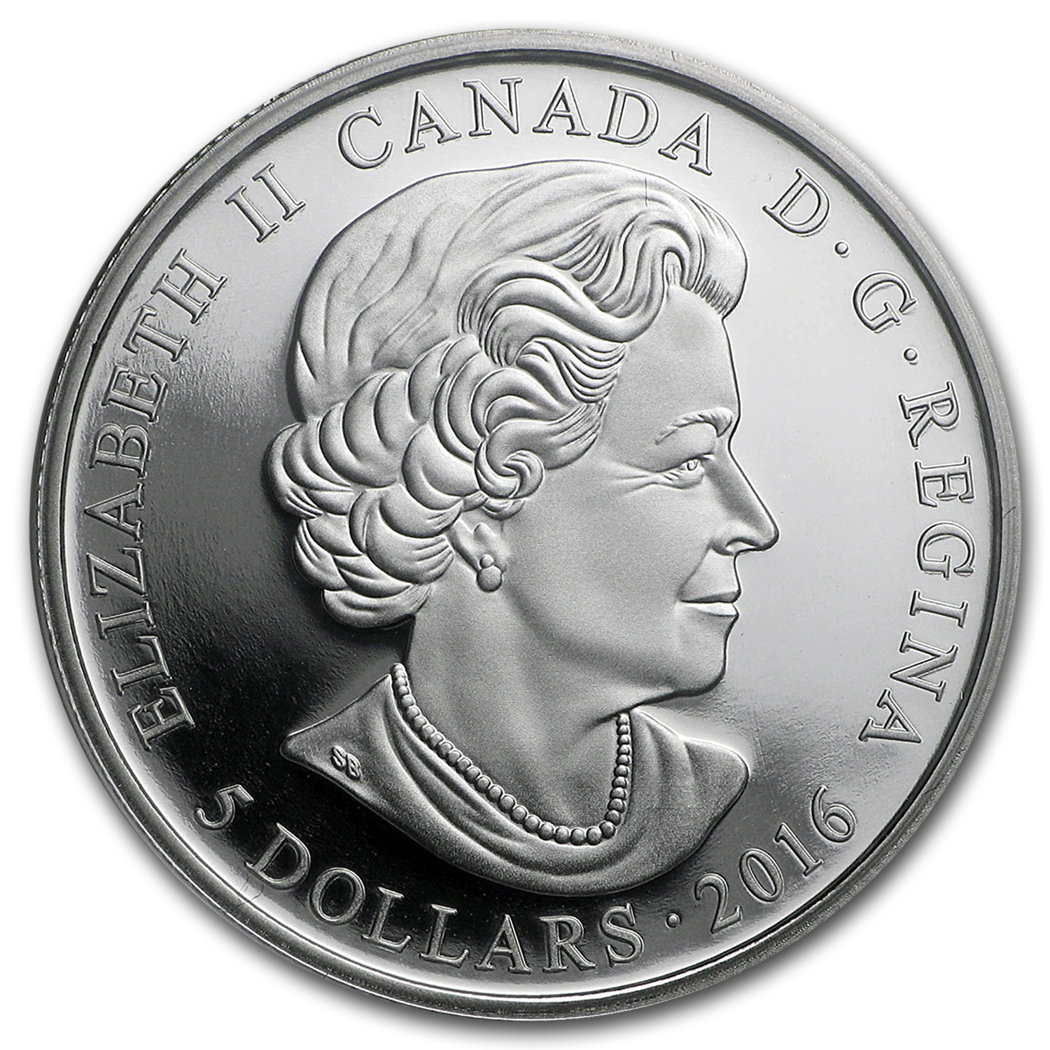 2016 Canada 1/4 oz Silver $5 Birthstones (April)