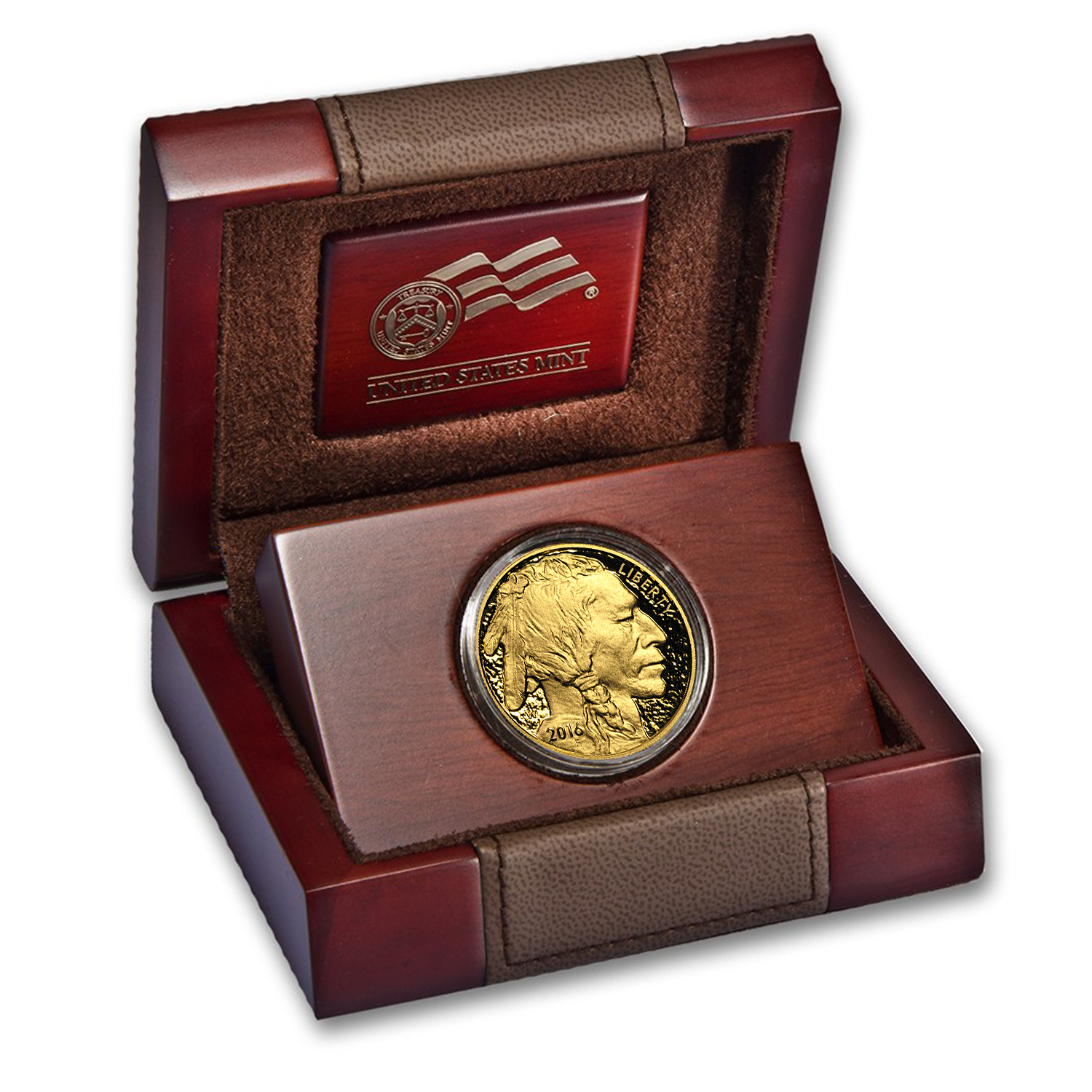 2016-W 1 oz Proof Gold Buffalo (w/Box & COA)