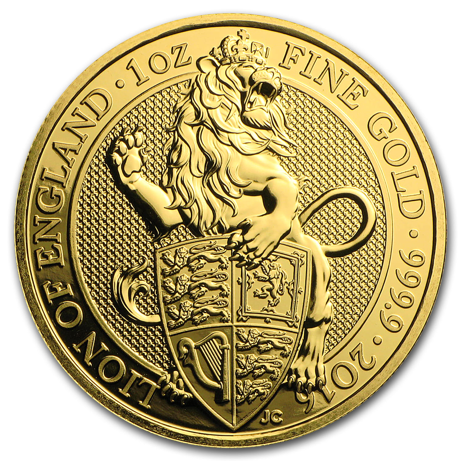 2016 Great Britain 1 oz Gold Queen's Beasts (The Lion)