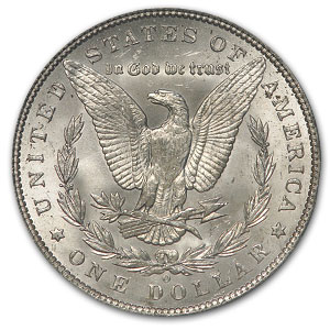 1888-O Brilliant Uncirculated PCGS Stage Coach Silver Dollars