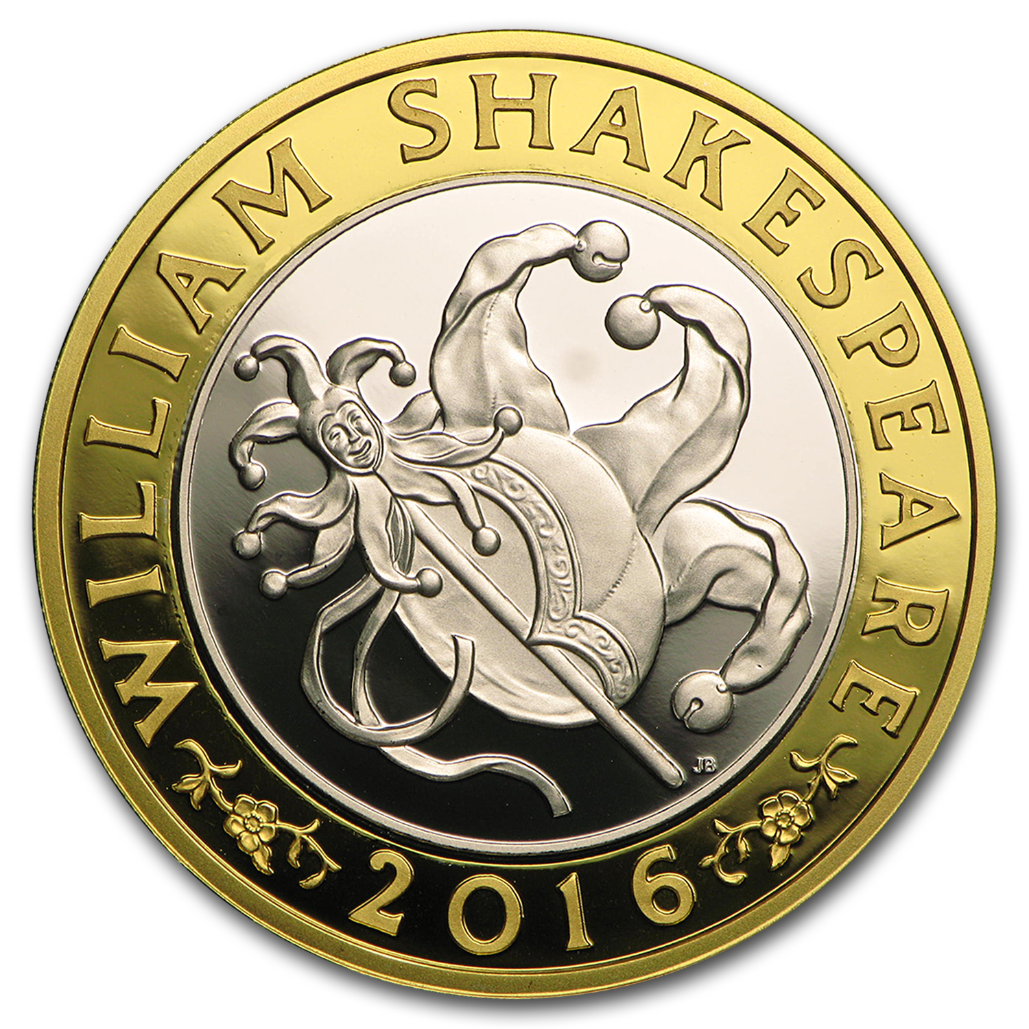 2016 Great Britain £2 Prf Silver Shakespeare: Comedies Piedfort