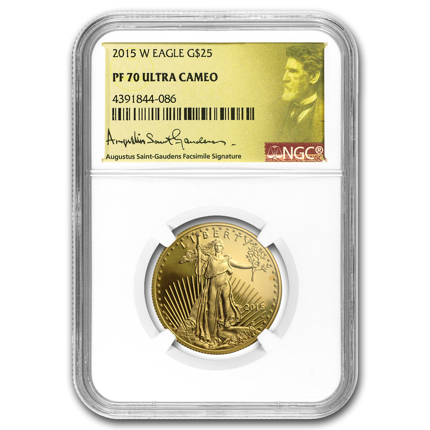 2015-W 4-Coin Proof Gold American Eagle Set PF-70 NGC