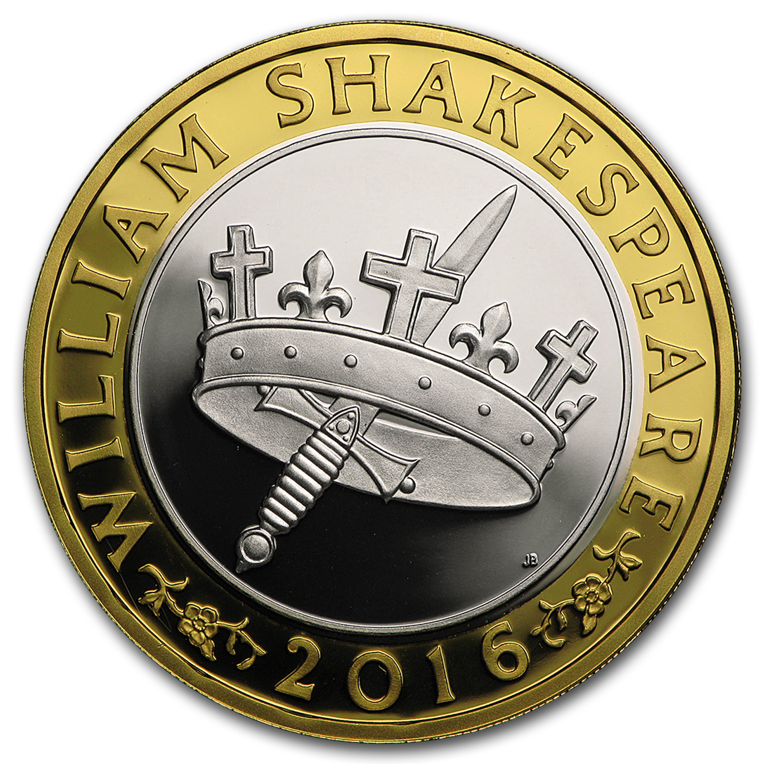 2016 Great Britain £2 Prf Silver Shakespeare: Histories