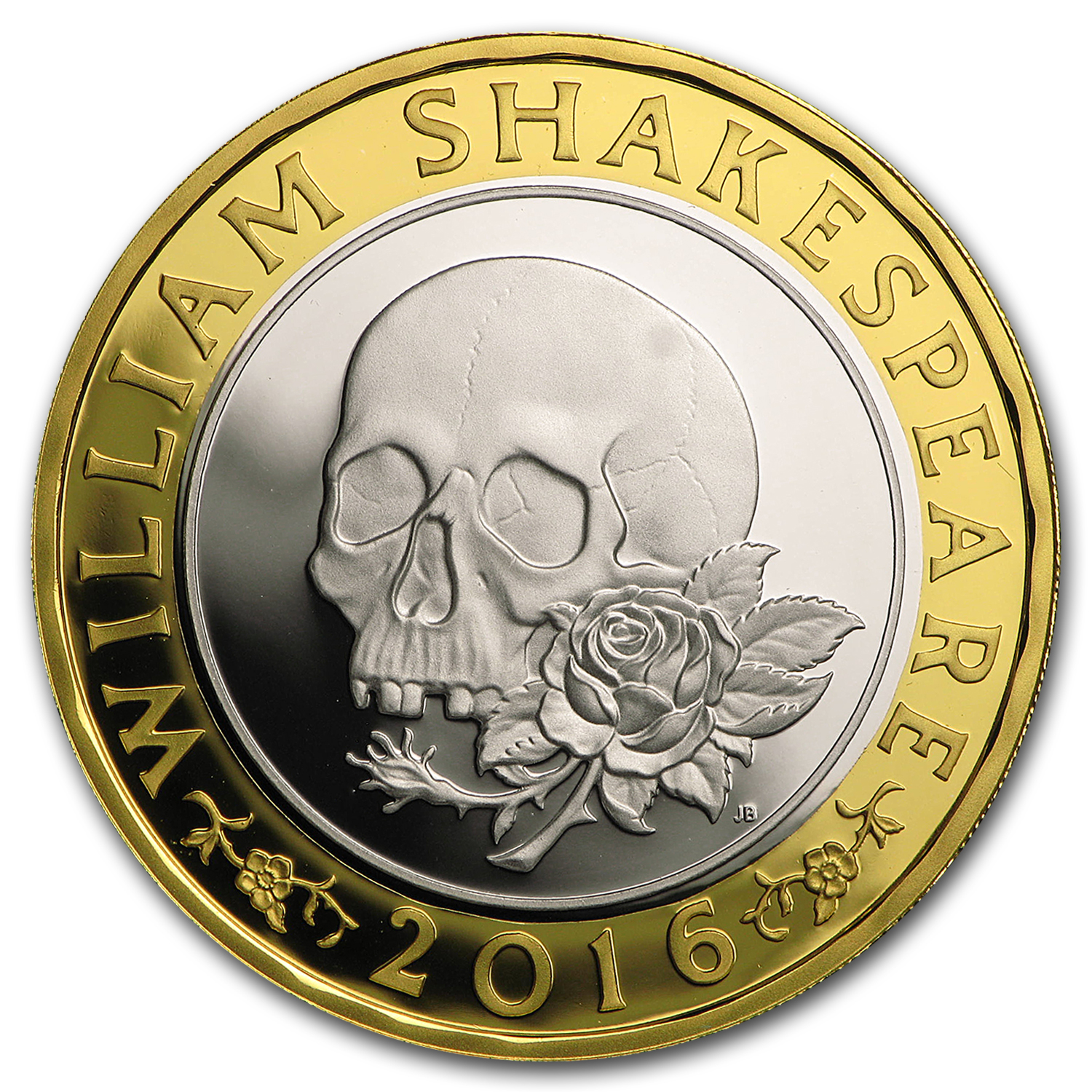 2016 Great Britain £2 Prf Silver Shakespeare: Tragedies