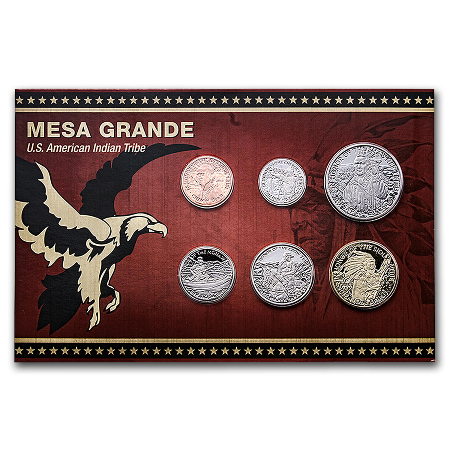 2013 Mesa Grande Tribe Coin Set