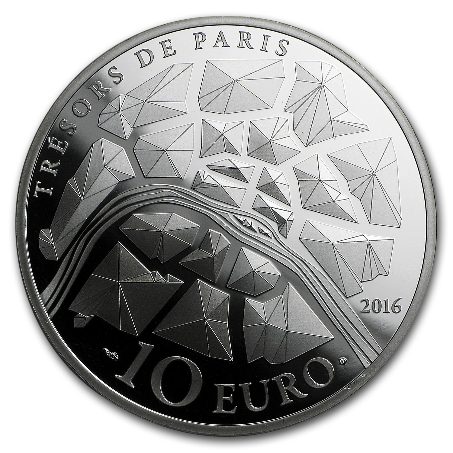 2016 France Silver €10 Treasures of Paris (Opera Garnier)