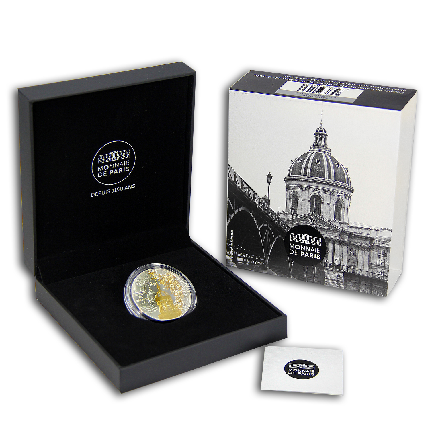 2016 France Silver €10 Treasures of Paris (Institut de France)