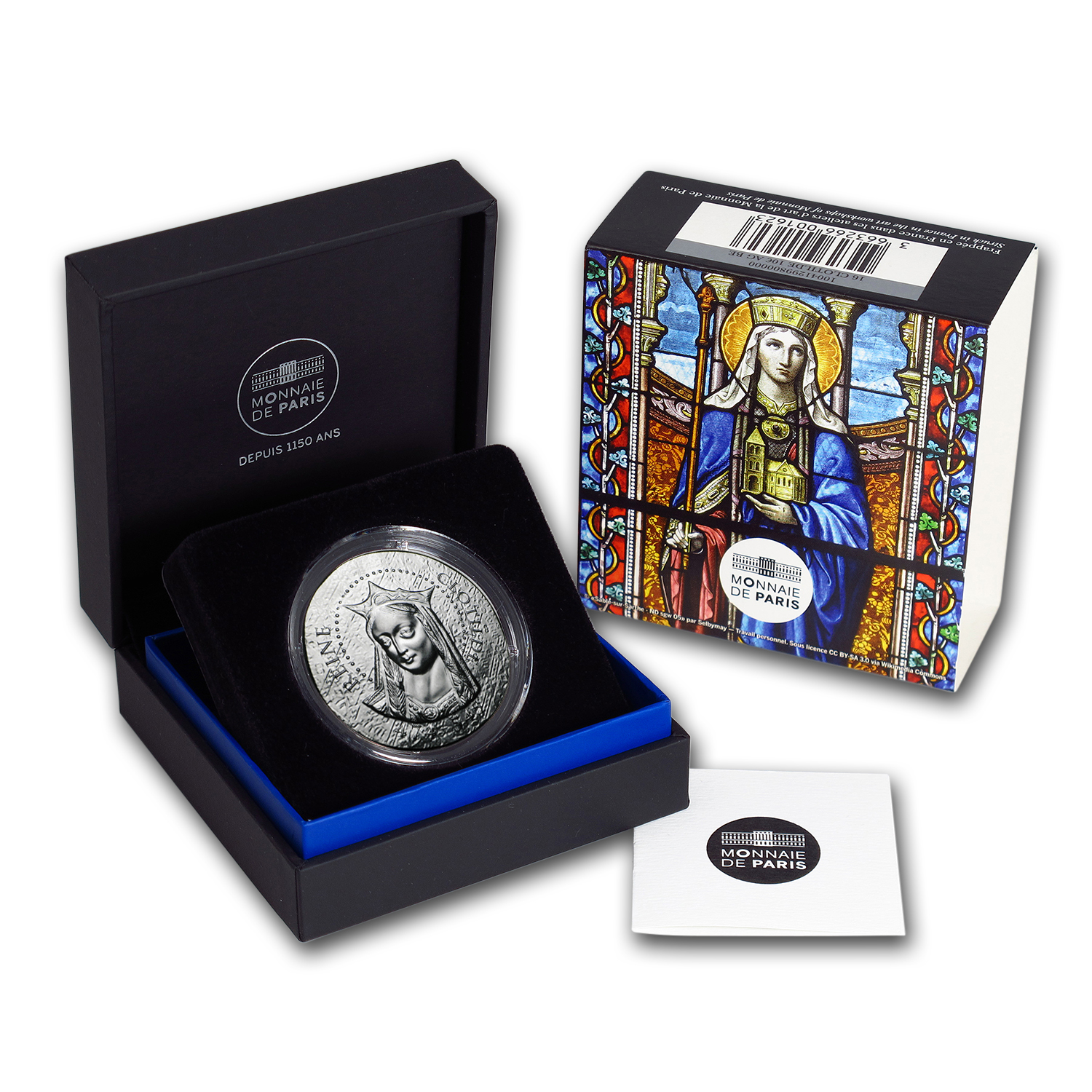 2016 Proof Silver €10 Women of France (Queen Clotilde)