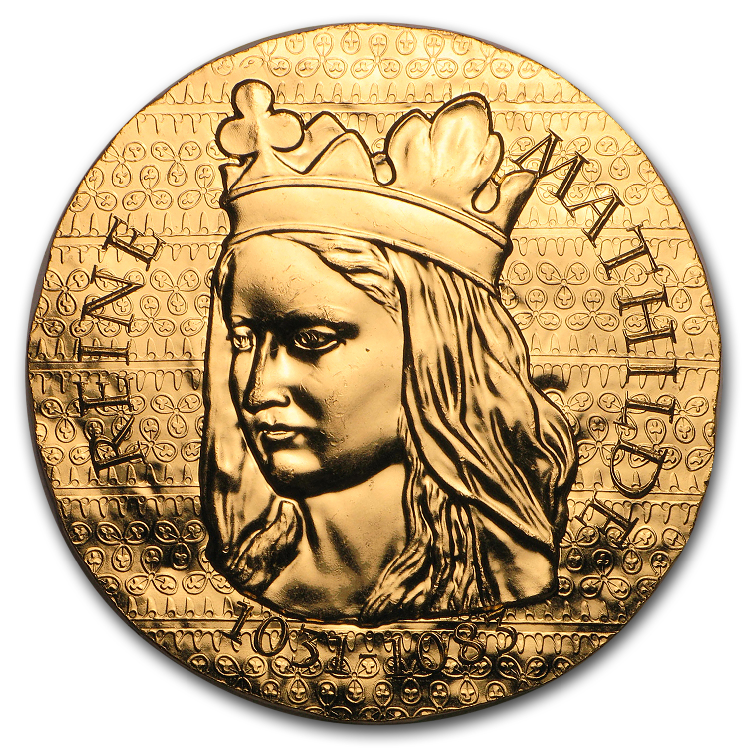 2016 1 oz Proof Gold €200 Women of France (Queen Matilda)