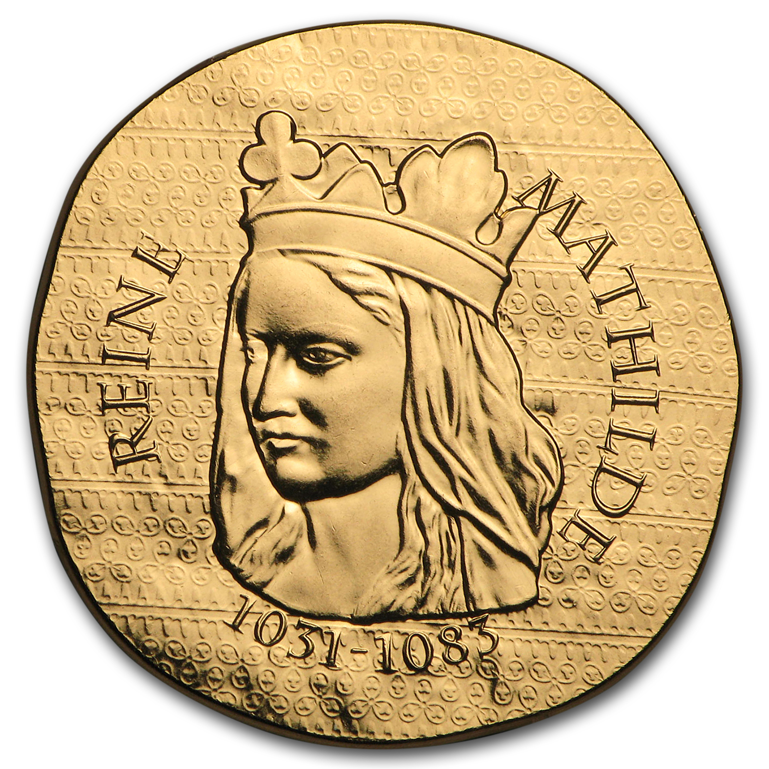 2016 1/4 oz Proof Gold €50 Women of France (Queen Matilda)