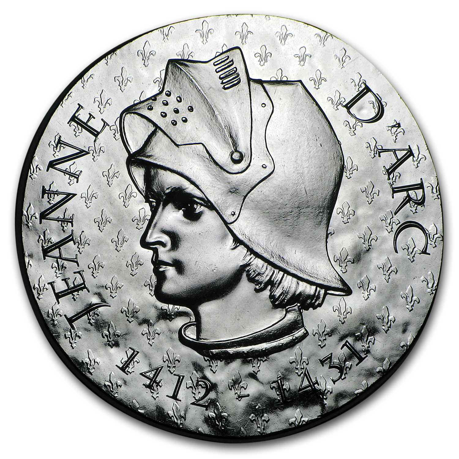 2016 Proof Silver €10 Women of France (Joan of Arc)