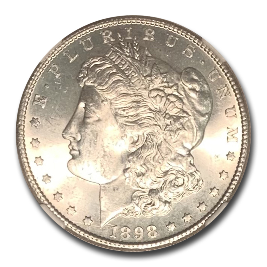 1898-S Morgan Dollar MS-65 NGC