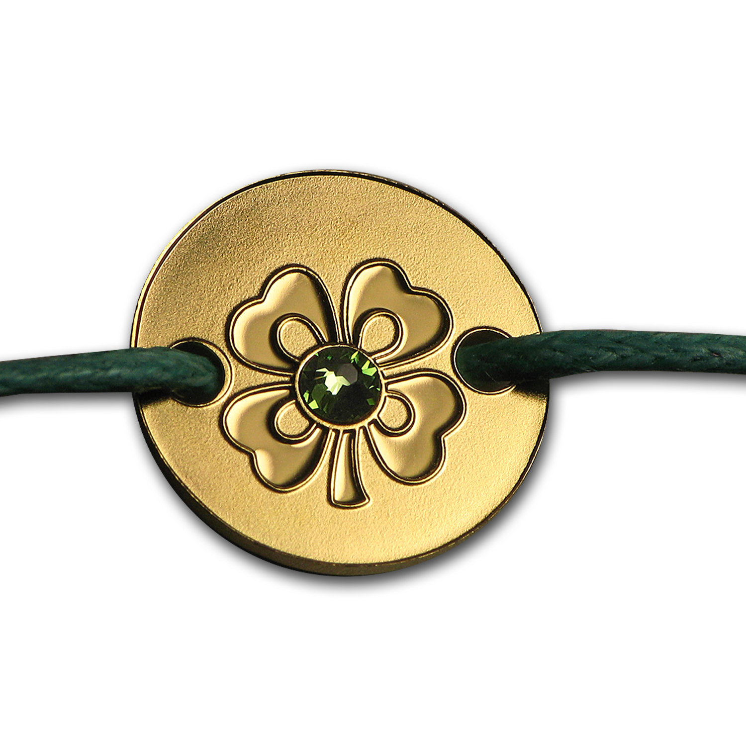 2015 Niue Gold Coin Bracelet Small Treasures (Four Leaf Clover)