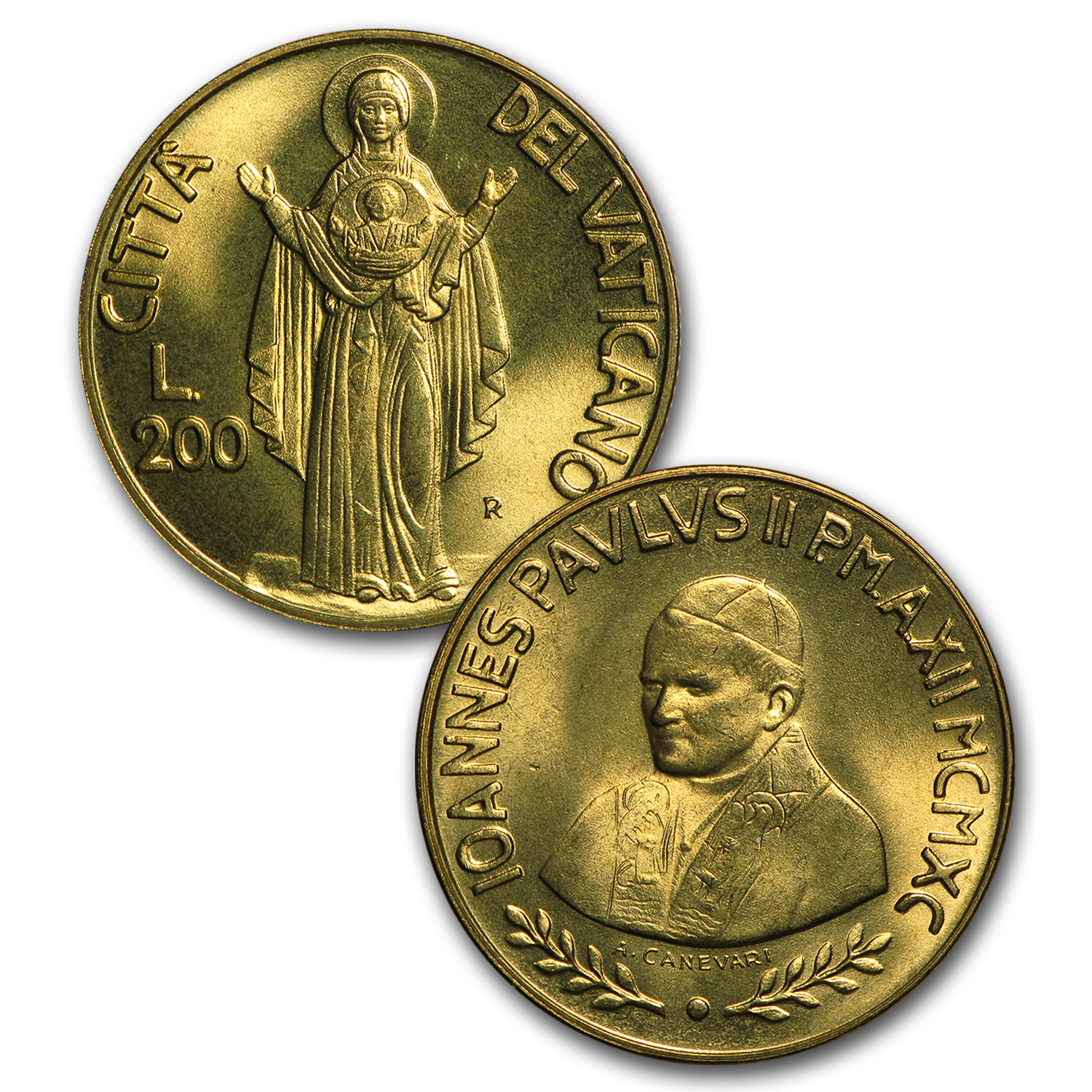 Vatican City Bible Set (6 coins)