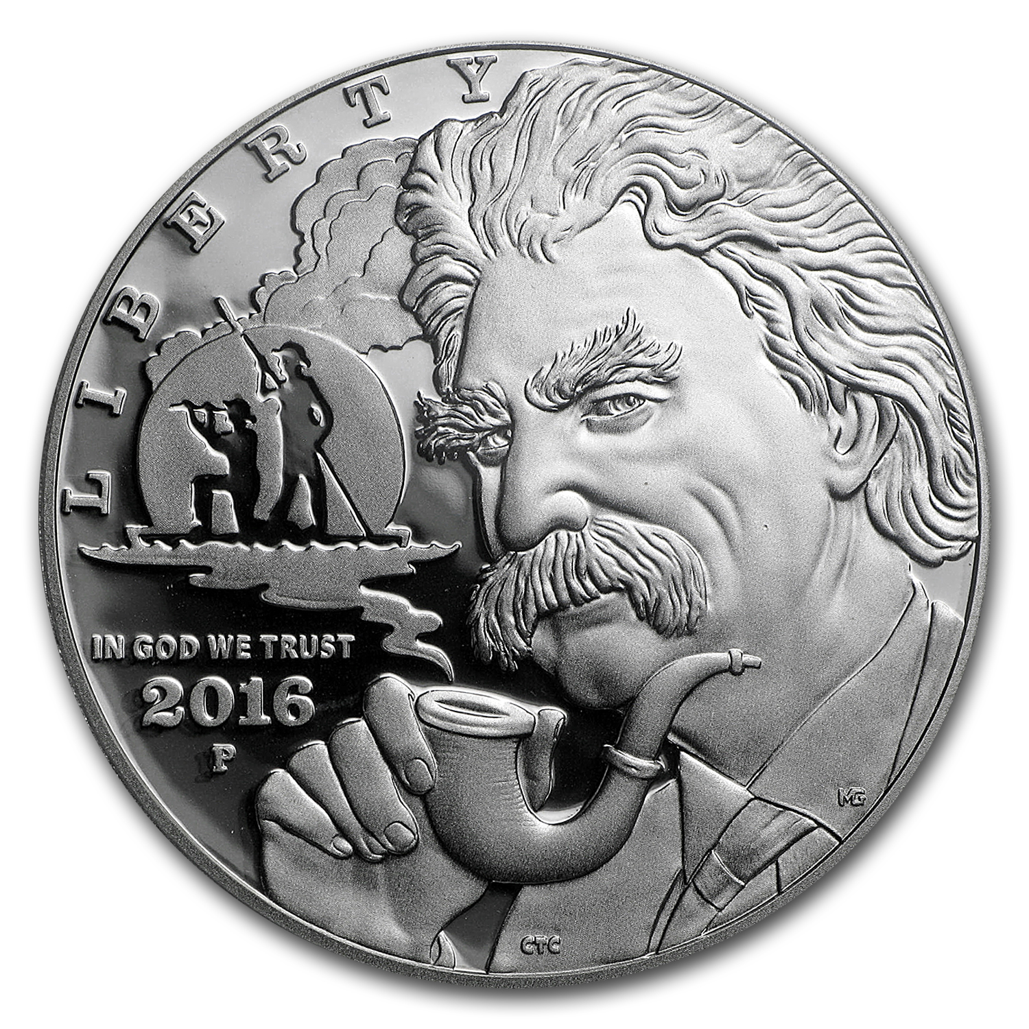 2016-P Mark Twain $1 Silver Commem PR-69 PCGS