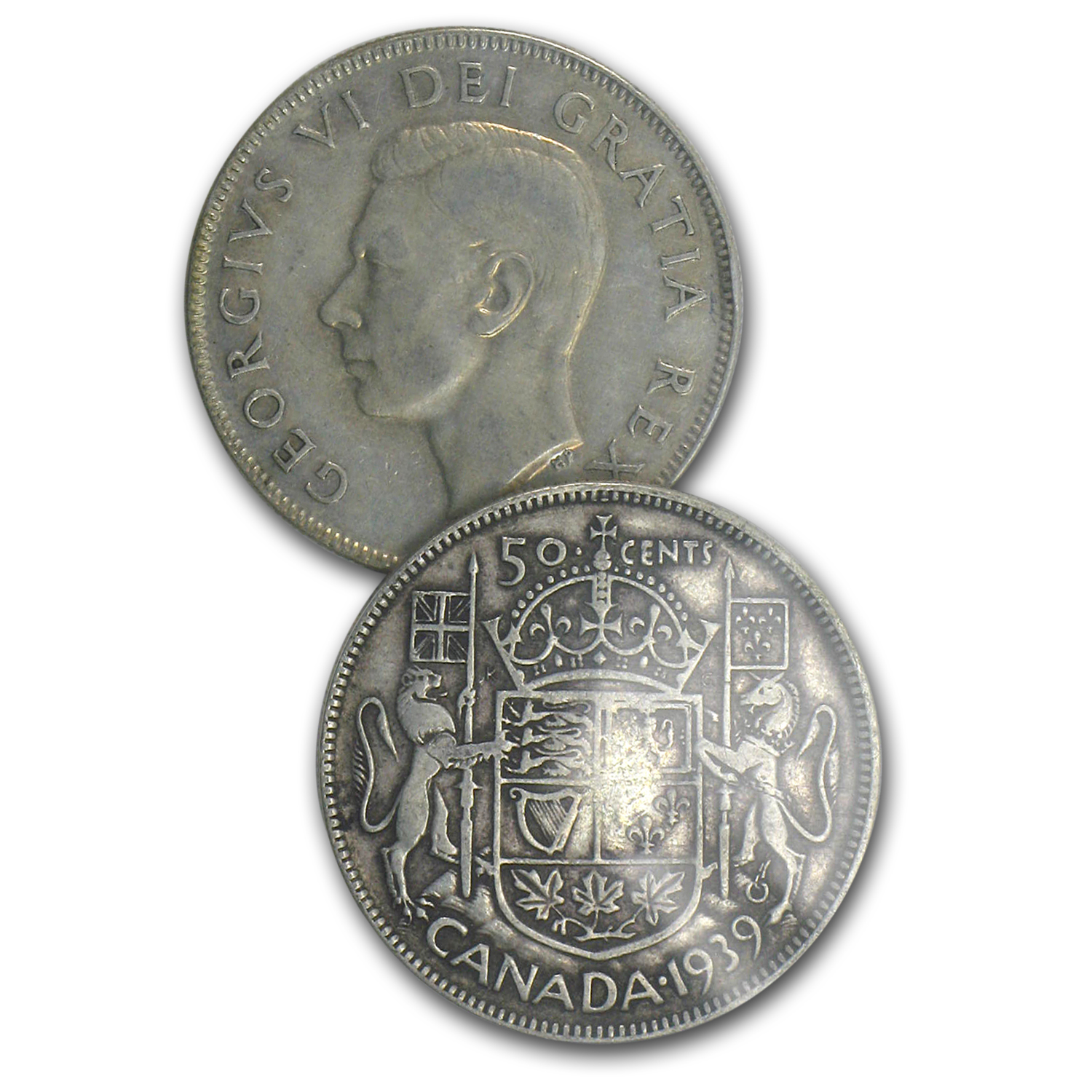 Canada 80% Silver Coins - $1 CAD Face Value