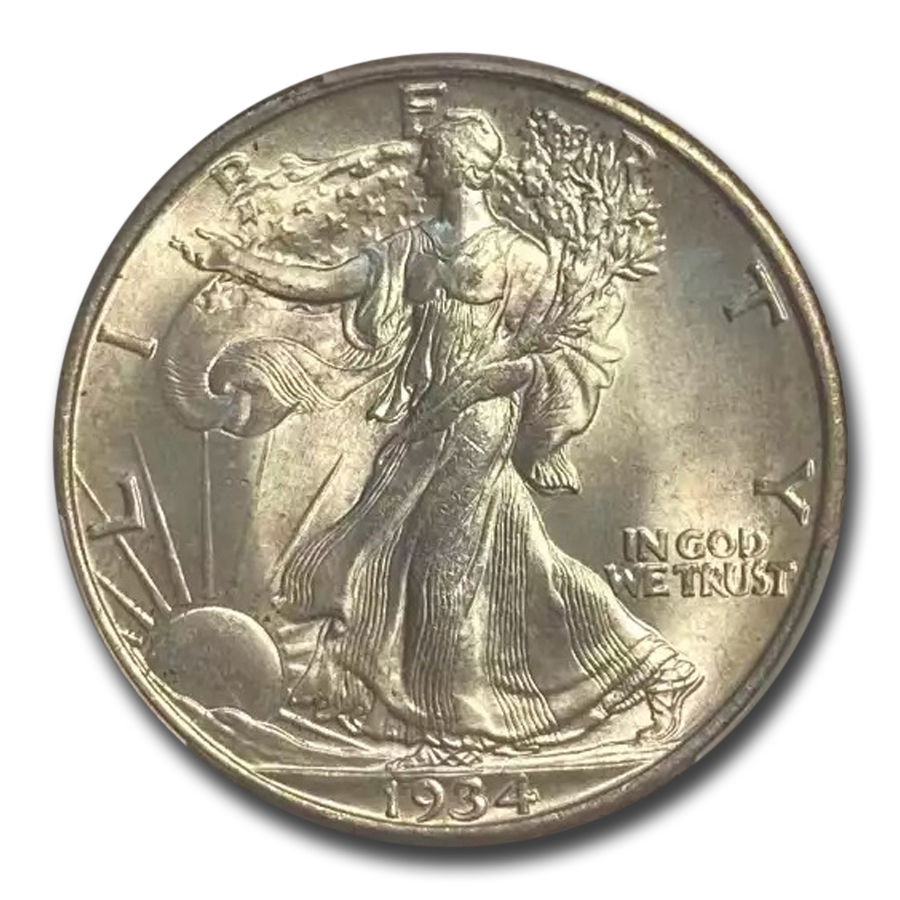 1934 Walking Liberty Half Dollar MS-64 PCGS