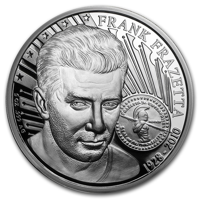 5 Oz Silver Proof Round Frank Frazetta Death Dealer