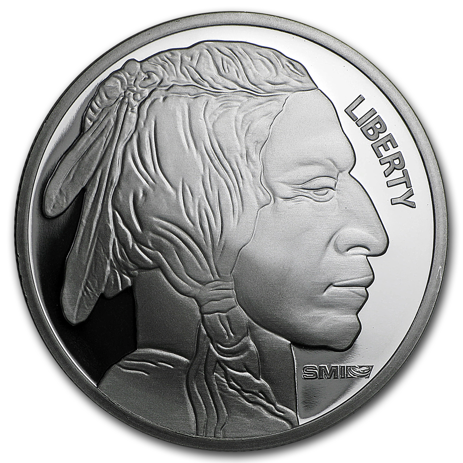 1 oz Silver Round - Buffalo (Sunshine Mint)