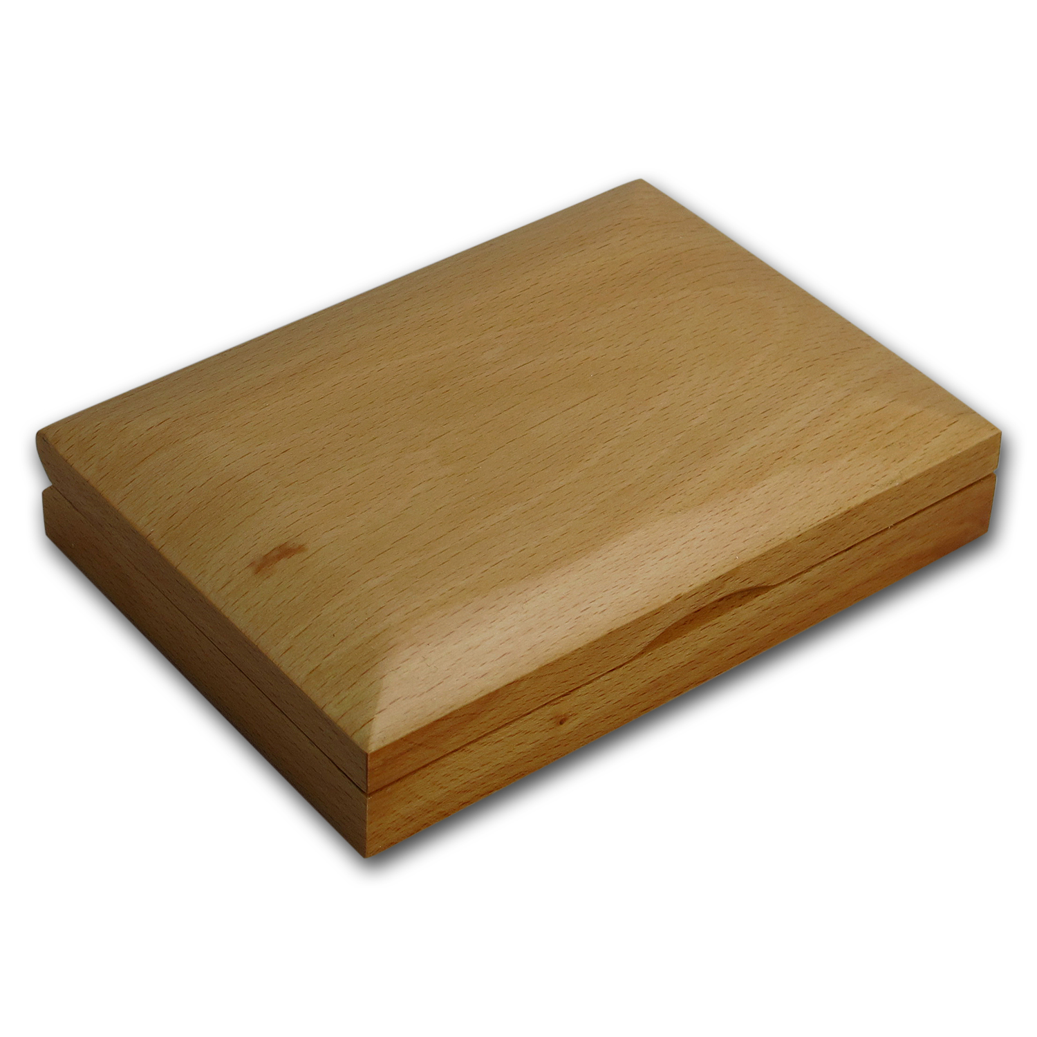 2 coin Wood Presentation Box - Fits Up to 40 mm (RCM Box)