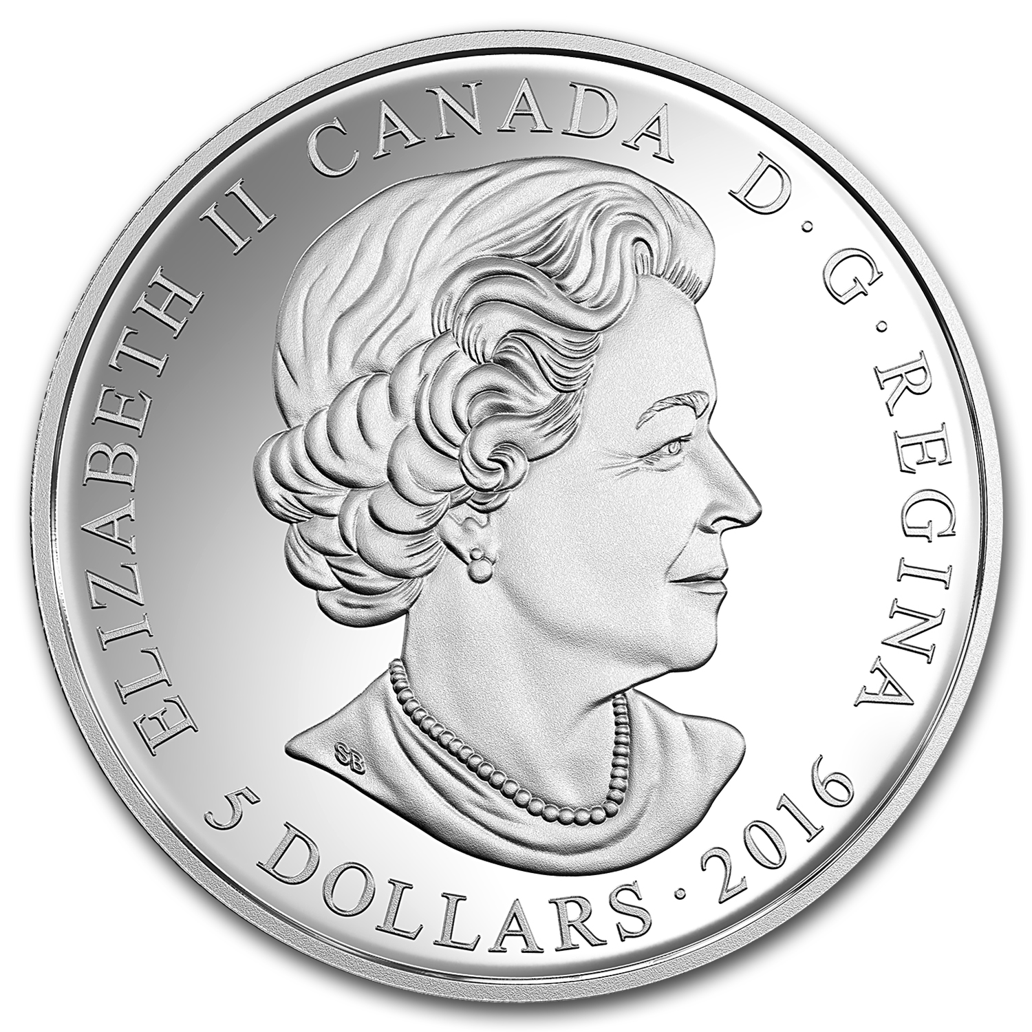 2016 Canada 1/4 oz Silver $5 Birthstones (May)