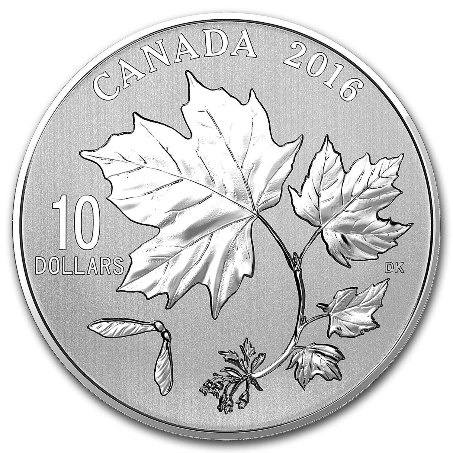 2016 Canada 1/2 oz Silver $10 Maple Leaf