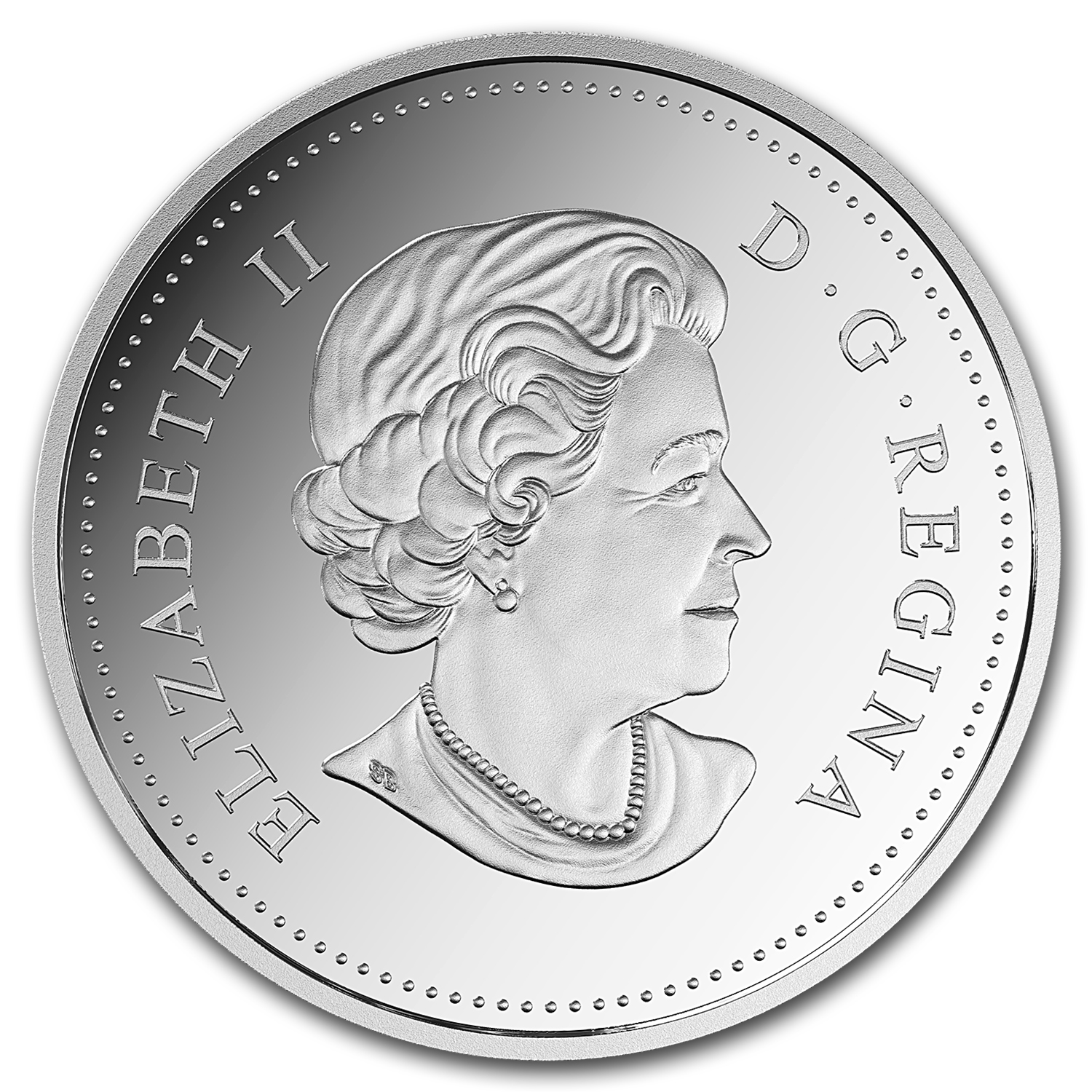 2016 Canada 1 oz Silver $20 A Celebration of Her Majesty's 90th