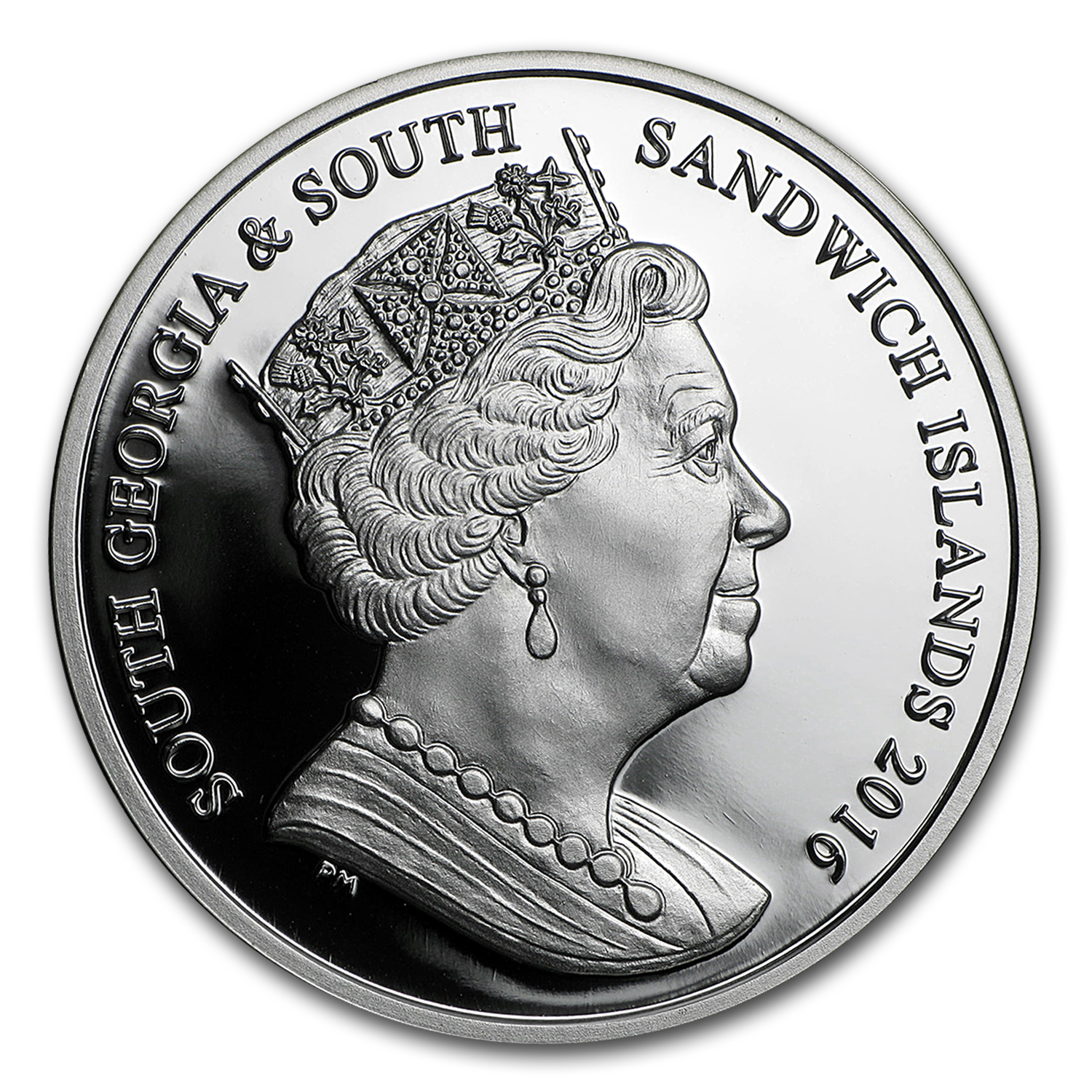 2016 BVI Silver £2 Ocean Zones: Twilight Proof