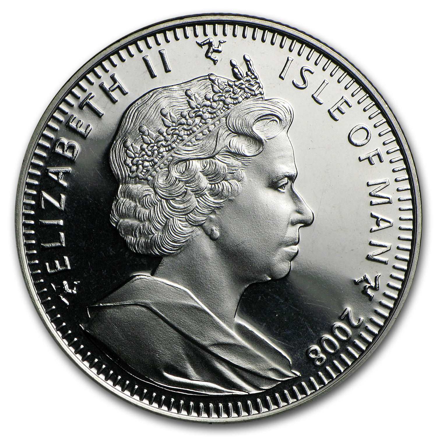 2008 Isle of Man Cupro-Nickel 1 Crown Paddington Bear