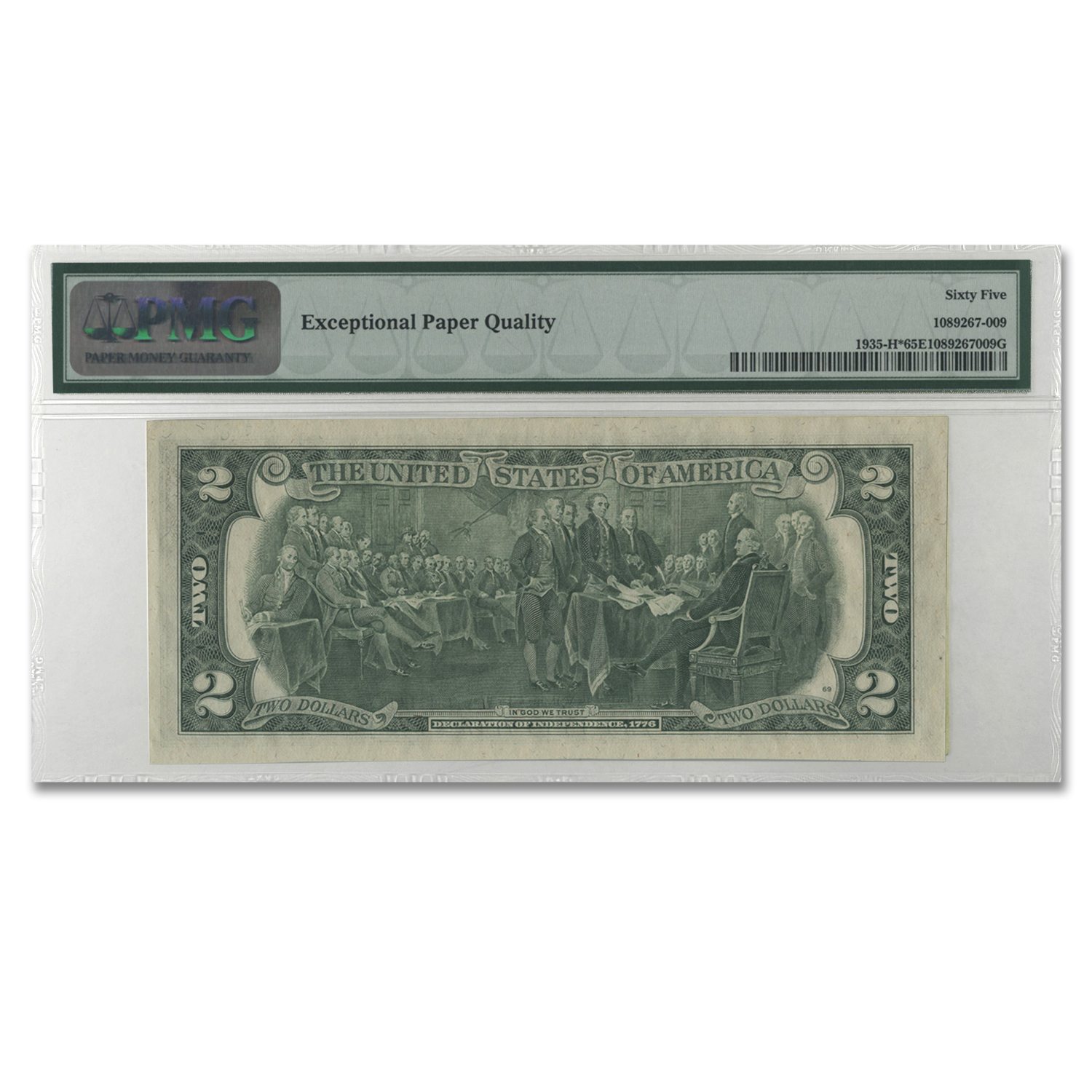 1976 (H-St. Louis) $2.00 FRN Gem Unc-65 PMG EPQ (Star Note)