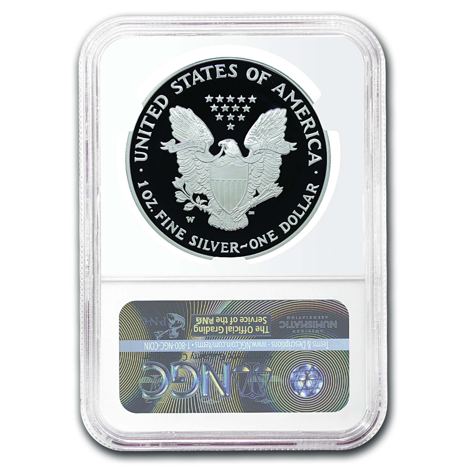 2016-W Proof Silver American Eagle PF-69 NGC (Early Release)
