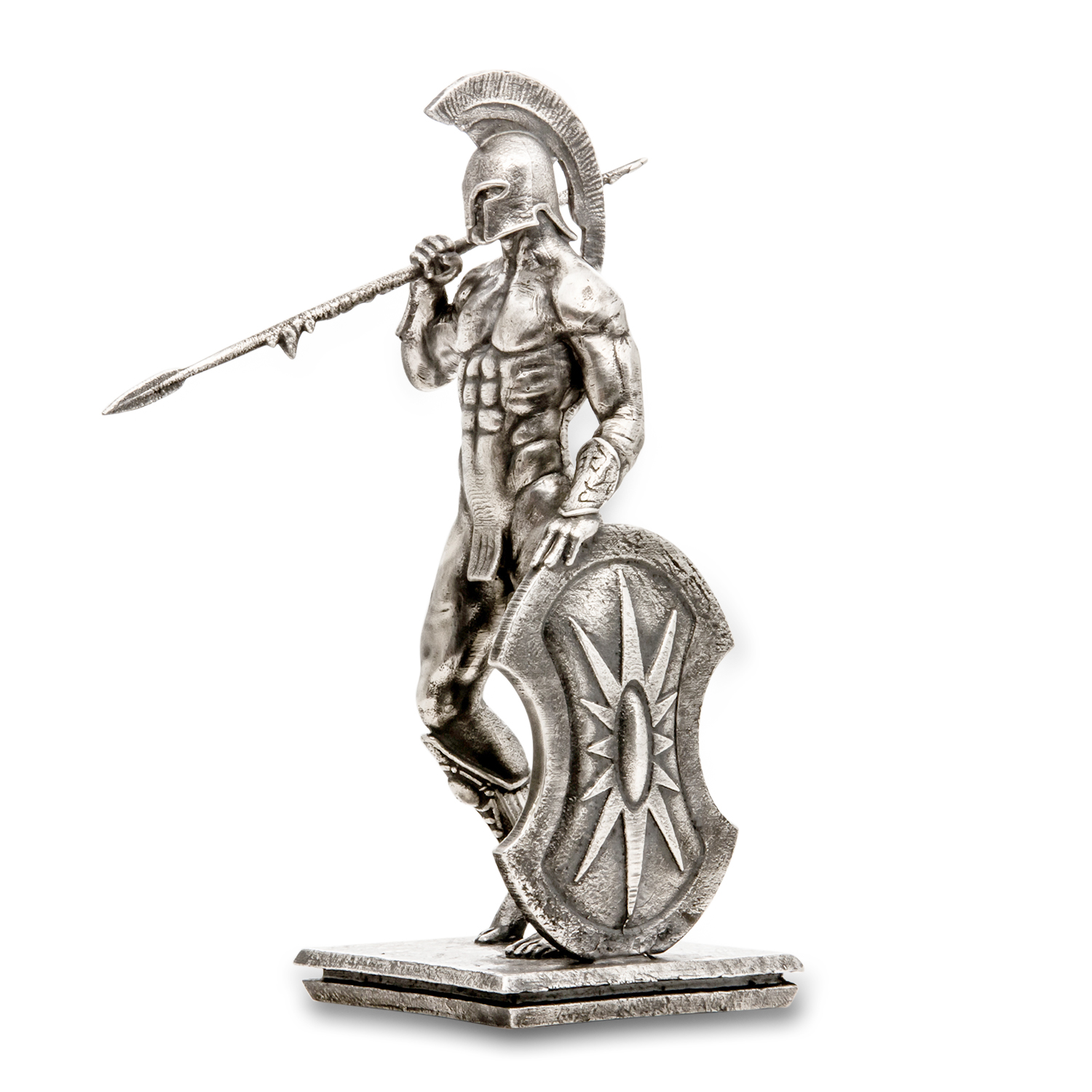 4 oz Silver Antique Statue - Frank Frazetta (Atlantis)