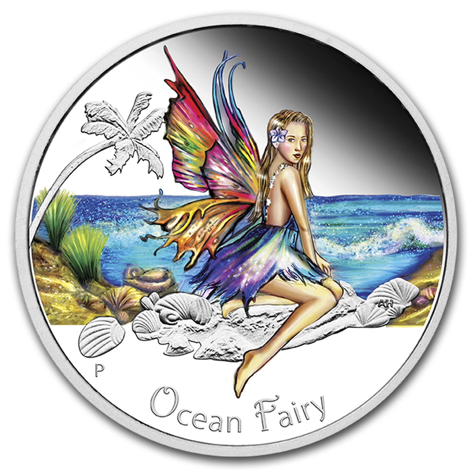 2016 Australia 1/2 oz Silver Ocean Fairy Proof
