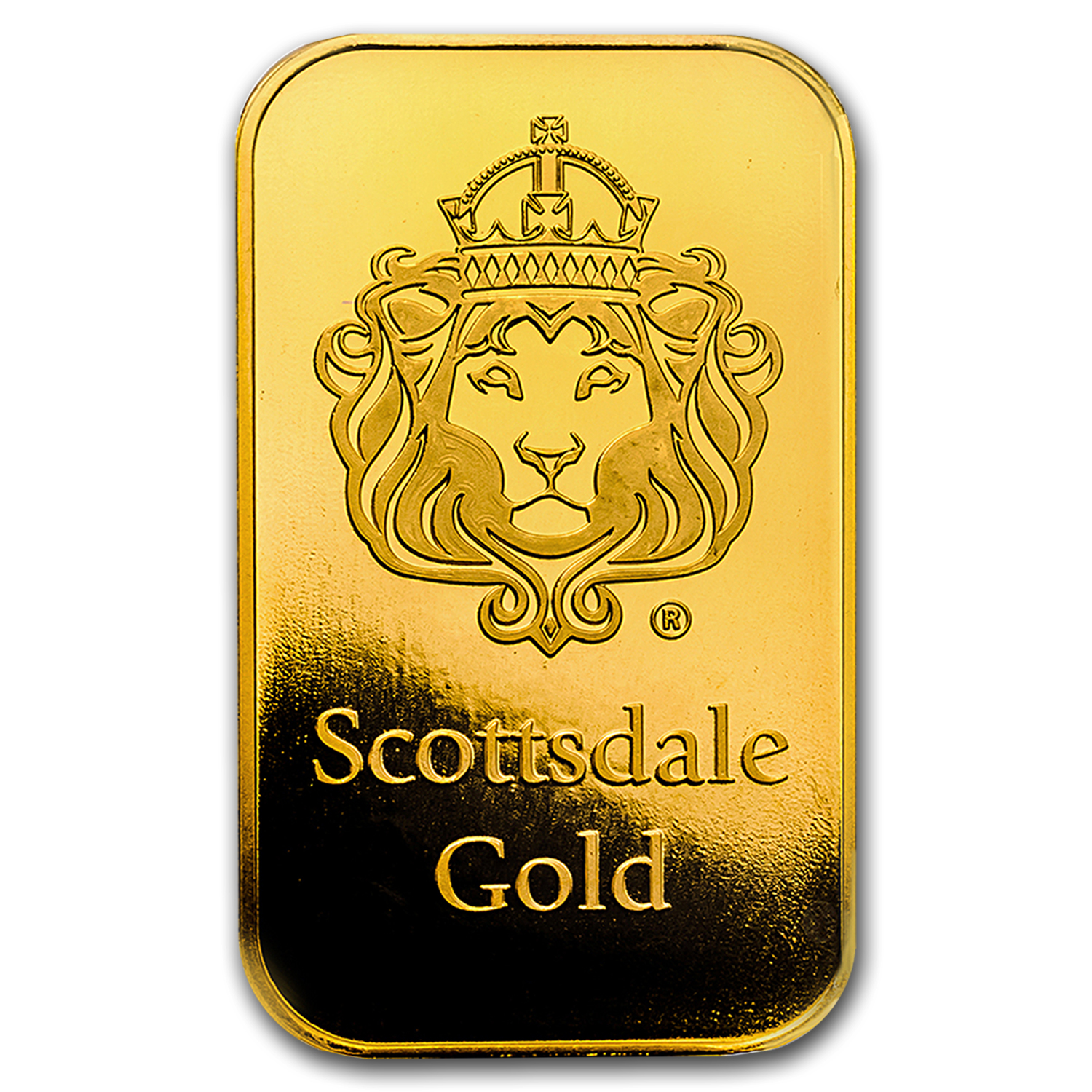 1 oz Gold Bar - Scottsdale Mint (In Certi-Lock® Assay)